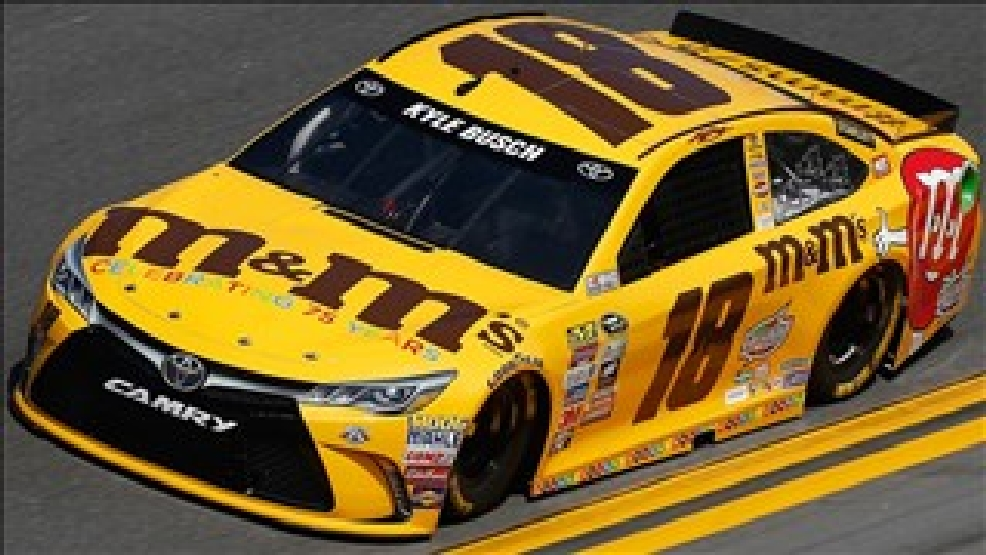 Kyle busch 39 s car fails inspection and won 39 t be on pole wbma - Pictures of kyle busch s car ...