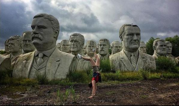 If you browse under the #WashingtonDC on Instagram, you'll find plenty of the usual tourist pics. But if you look closely, there are some stellar views of D.C. Although this field of presidents is actually in Virginia, it's close to our hearts.{&nbsp;} (Image via @laflaneure)<p></p>