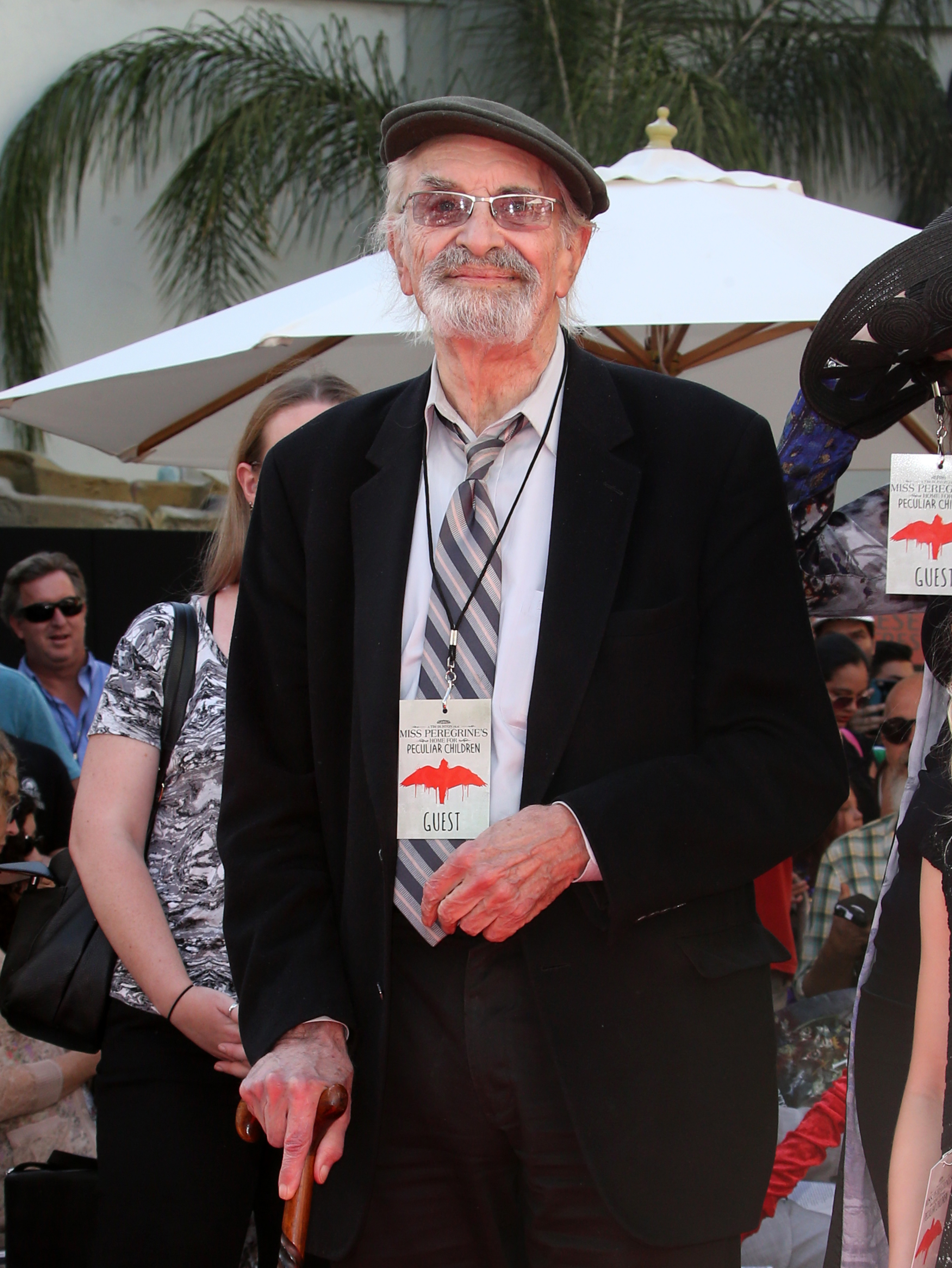 Tim Burton Hand And Footprint Ceremony  Featuring: Martin Landau Where: Hollywood, California, United States When: 09 Sep 2016 Credit: FayesVision/WENN.com