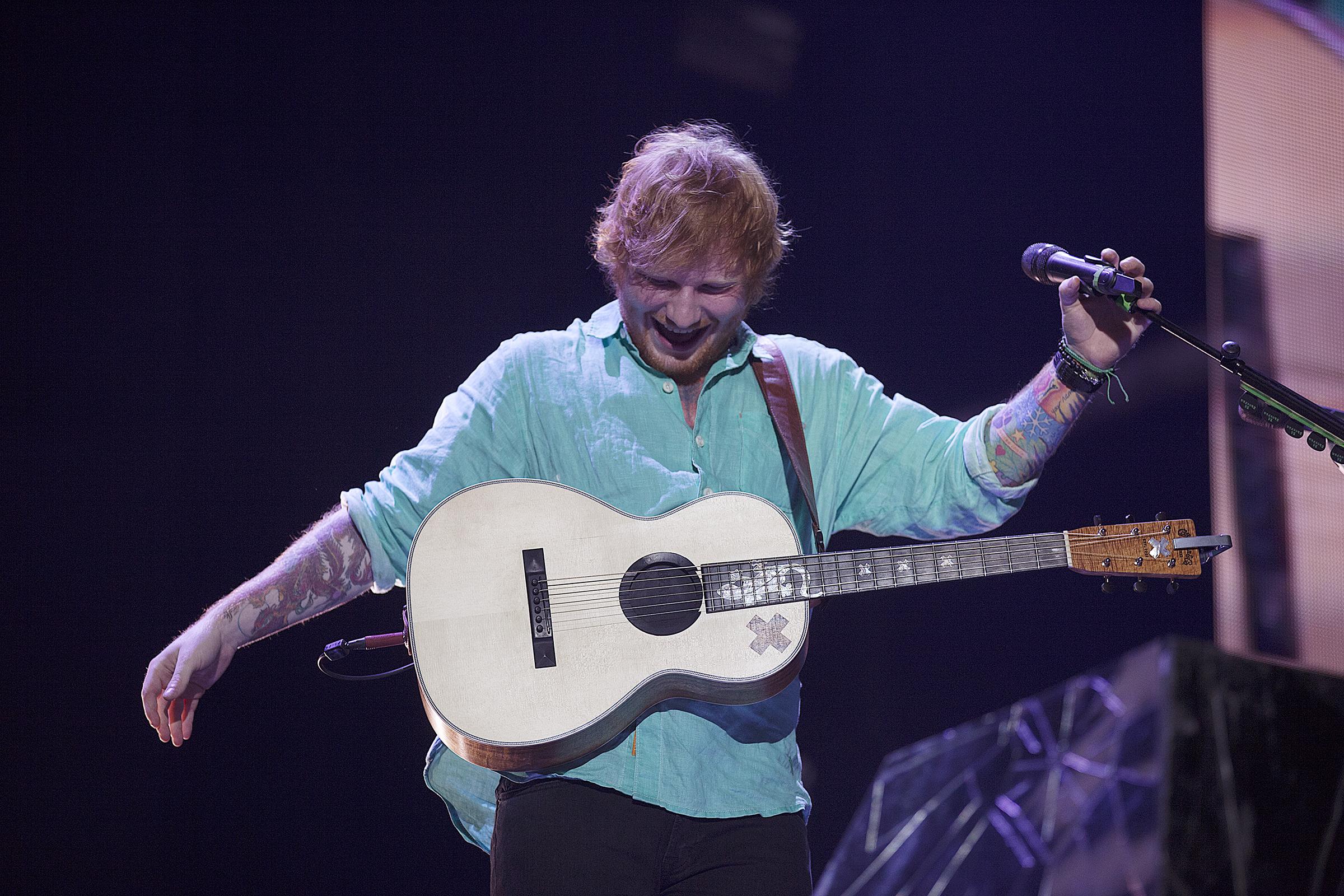 Ed sheeran tour dates in Perth