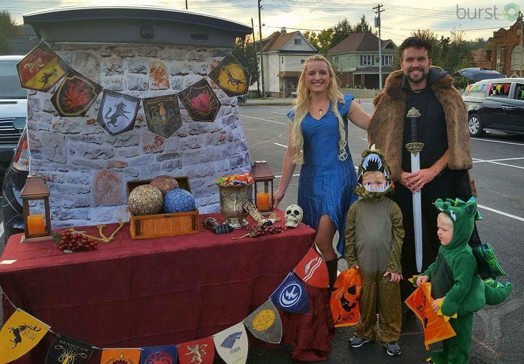 The Benedict family shows off their love for Game of Thrones in Wheeling.{&amp;nbsp;}<p></p>