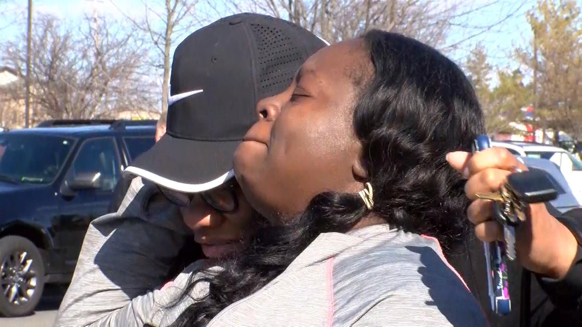 Families were reunited at the Comfort Inn in Mt. Pleasant. <br><br><p></p>