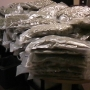 Police find 100 pounds of pot stuffed in trash bags