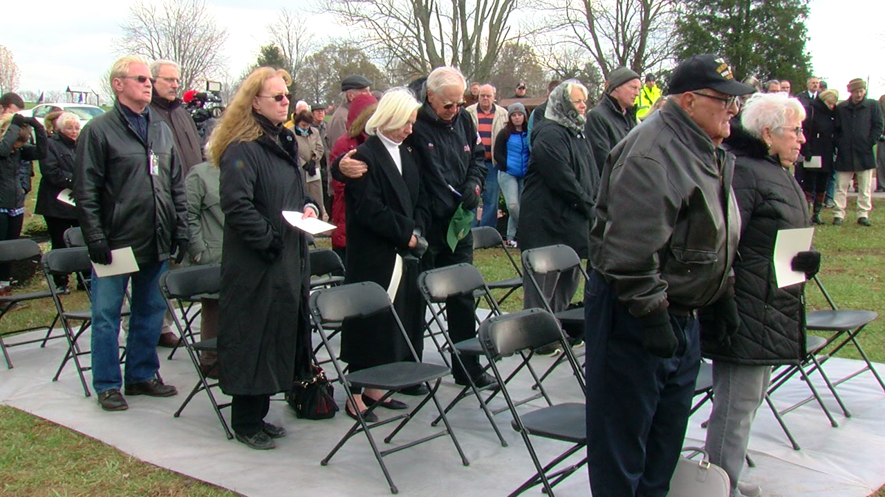Monday is the 50th anniversary of that crash in an apple orchard near the runway at CVG and on Sunday they gathered to remember it at a park in Burlington (WKRC)