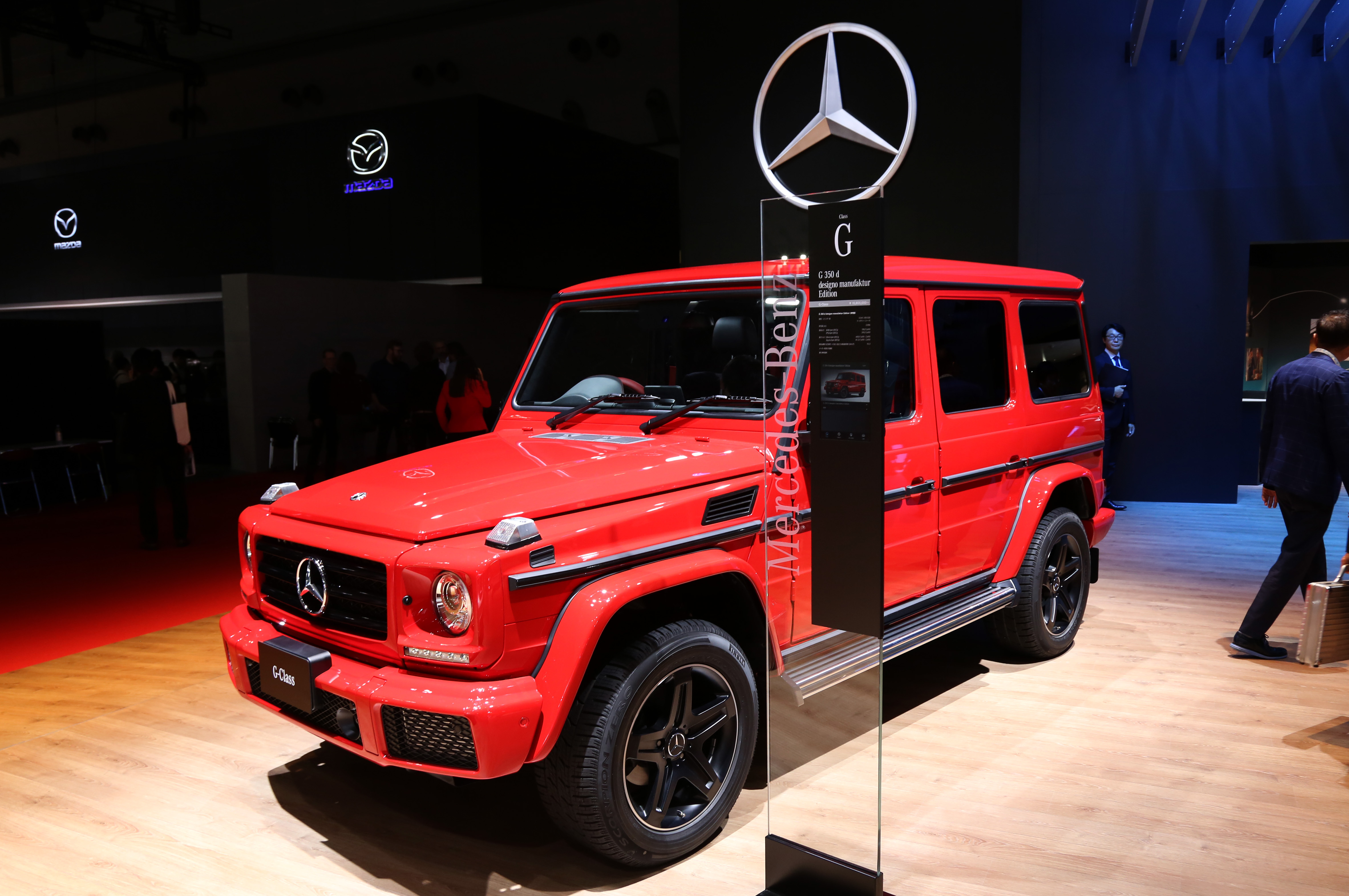 Tokyo Motor Show 2017  Featuring: Mercedes Benz G 350 d Designo Where: Tokyo, Japan When: 25 Oct 2017 Credit: Yukio Tomita/Future Image/WENN.com  **Not available for publication in Germany**