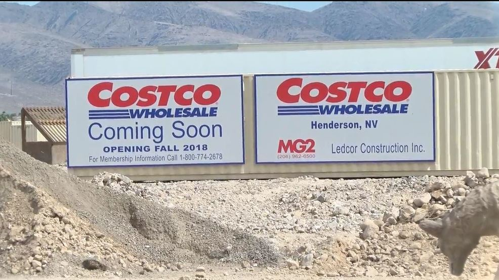 New Costco In Henderson Set To Open In November Ksnv