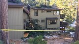 No one injured after tree falls through house in South Lake Tahoe