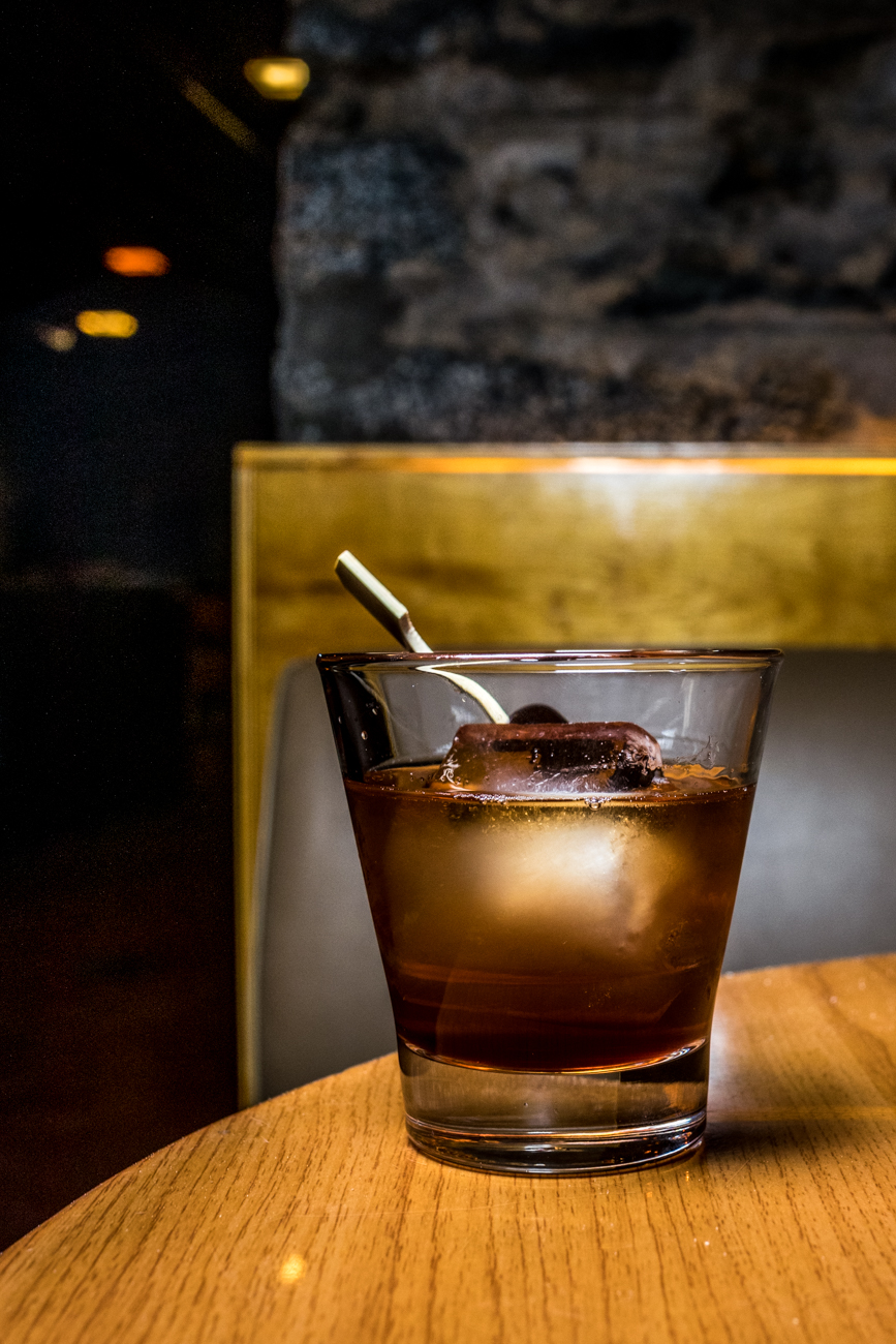 Irish Old Fashioned: Jameson Stout, Angostura bitters, maple simple syrup, orange peel, and a cherry /Image: Catherine Viox // Published: 3.3.20