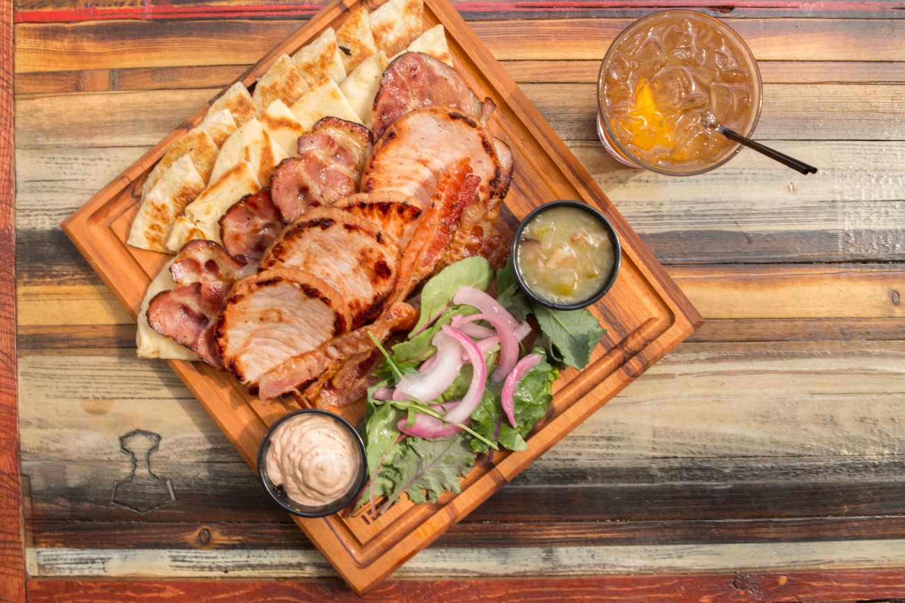 Meaty charcuterie board / Image: Catherine Viox // Published: 8.18.17