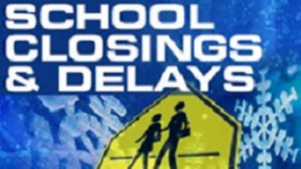 Winter Weather Causing Some School Closings And Delays Thursday