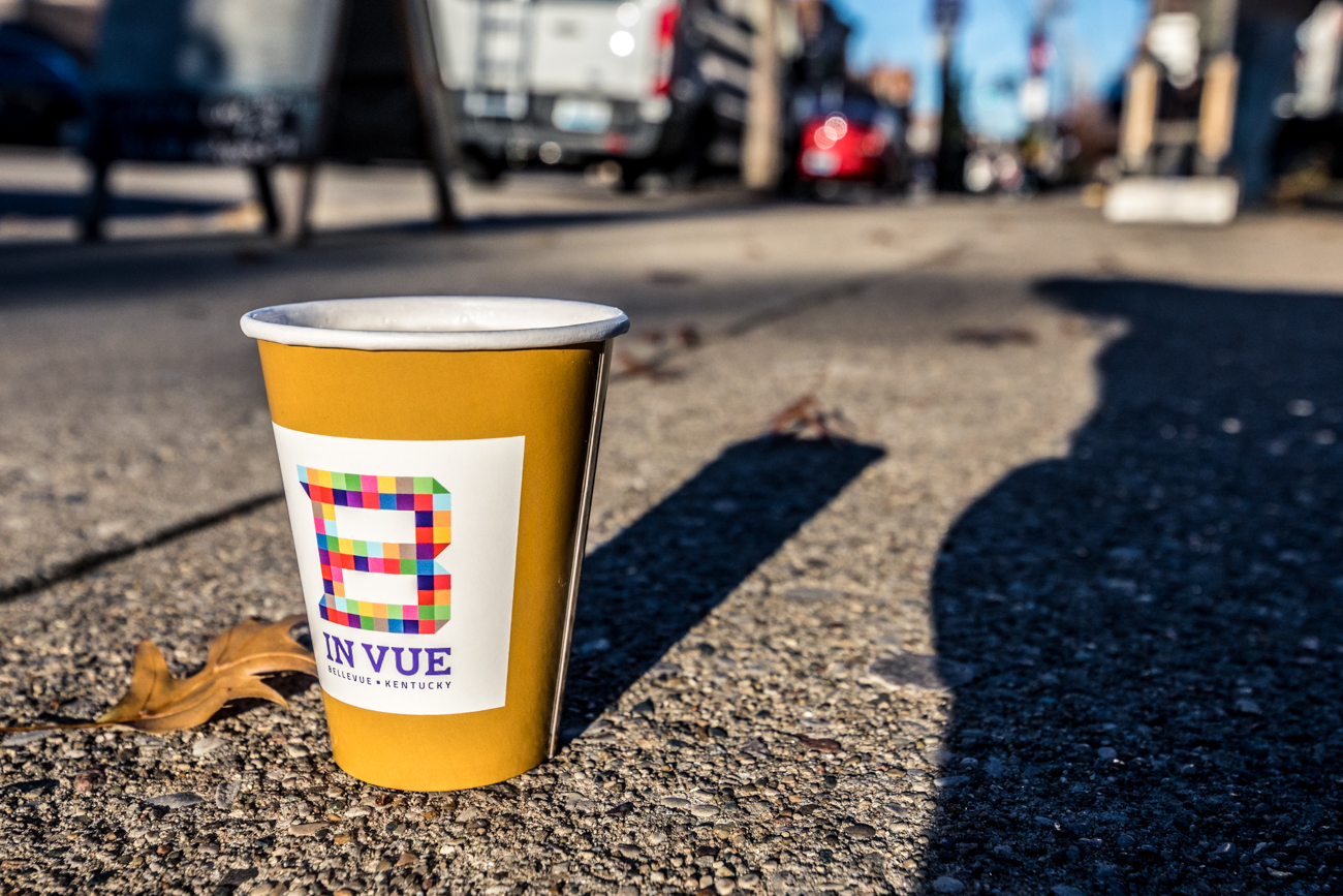 There are specific rules to abide by in the new district. Pedestrians can't just walk around with any beverage; participants must purchase a 50-cent cup from participating establishments within the district. They can then fill the permitted cup and take it out onto Fairfield Avenue. Alcohol-carriers also aren't allowed to get into a car with the drink (of course) and they can't fill a drink outside of the district's boundaries and bring it into the area. The purpose of the entertainment district is to patronize the local businesses and enjoy their drinks on the go between establishments. / Image: Catherine Viox // Published: 12.9.19