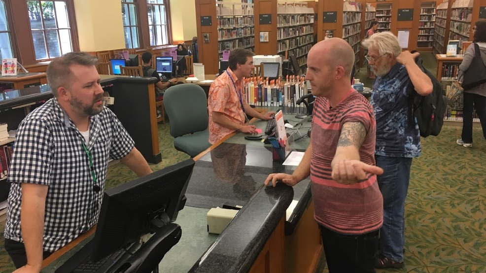 Librarians to portland readers show us your tats wics for Kitchen library portland