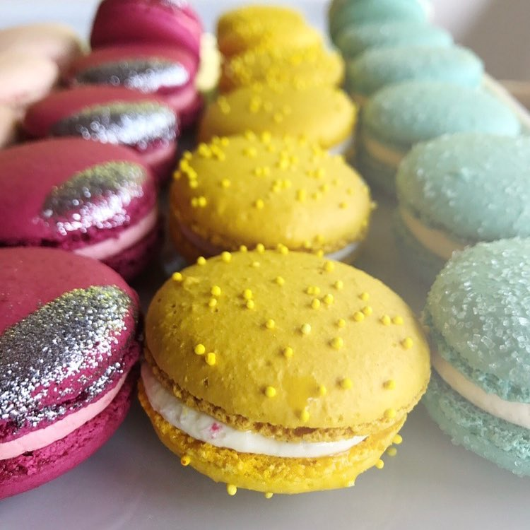 Macarons{ }(Photo: Trophy Cupcakes)