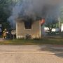 Children escape fire that destroys Lisbon mobile home