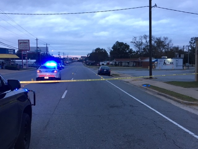 A manhunt is underway in Crisp County Monday morning after shots were fired at an officer during a traffic stop. / Photo: Kerri Copello