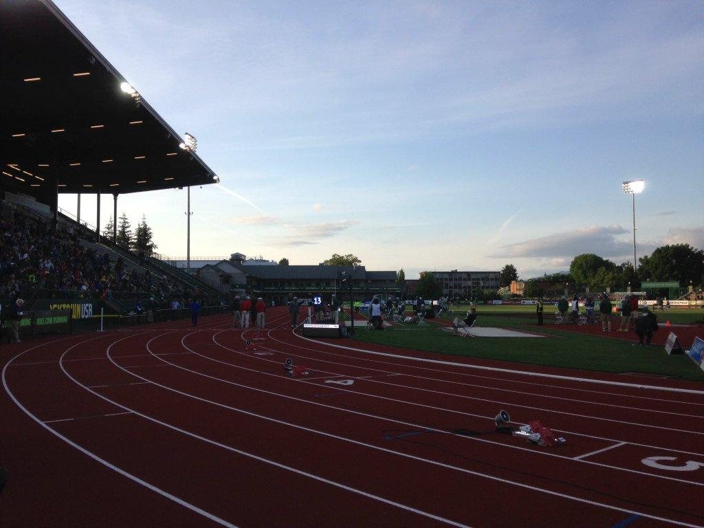 The Prefontaine Classic begins Friday at Hayward Field. It is one of the final meets scheduled before Hayward Field will undergo a major renovation. Photo by Travis Teich
