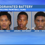 3 arrested for shooting pedestrians with paintball guns