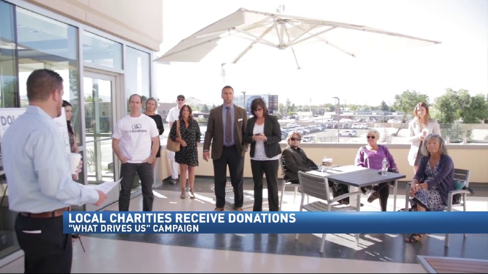 Dolan Auto Group Recognizes 5 People With Donations To Charity Krnv