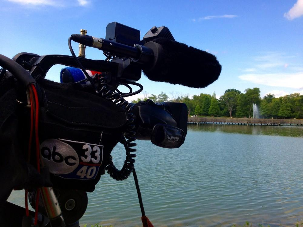 Birmingham police found a dead body in the water at East Lake Park, Tuesday, July 9, 2013.