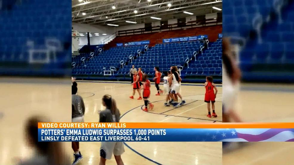 2.6.20 Video - East Liverpool's Emma Ludwig surpasses 1,000 point milestone