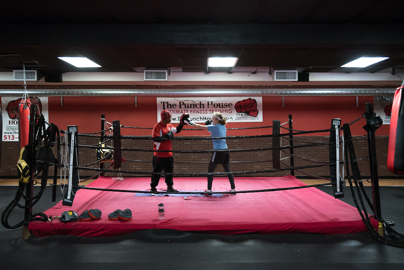 The Punch House is a North Avondale-based gym designed to teach aspiring boxers and fitness-lovers how to hit like a pro through an alternative workout. A personal instructor pushes you to achieve fitness goals while tailoring the program to your abilities. ADDRESS: 3911 Reading Road (45229) / Image: Phil Armstrong, Cincinnati Refined // Published: 3.23.18
