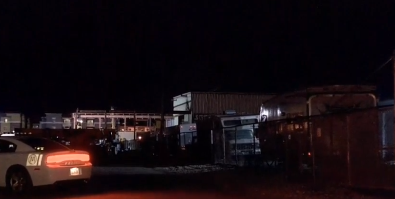 Teen dies after falling through roof at Murray industrial yard. (Photo: KUTV)