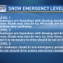 Snow emergency levels ACTIVE in NW Ohio/SE Michigan