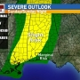 Risk for strong to severe storms Sunday