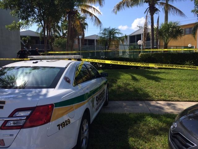 Woman found unresponsive in pool. (WPEC)