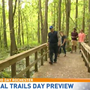 Ashley hits the trail with Wegmans for National Trails Day