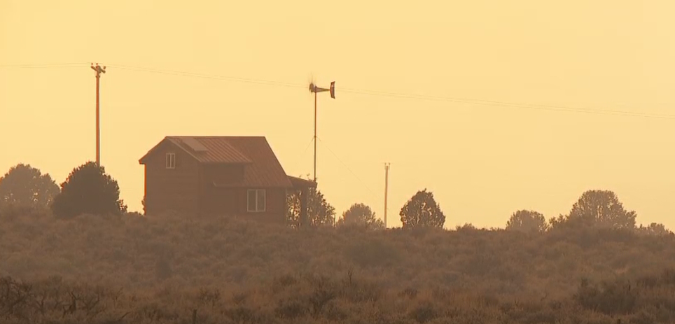 Evacuated Duchesne County residents watched helplessly as the Dollar Ridge Fire tore through acres of land on Tuesday, July 3, 2018, destroying everything in its path. (Photo: KUTV)