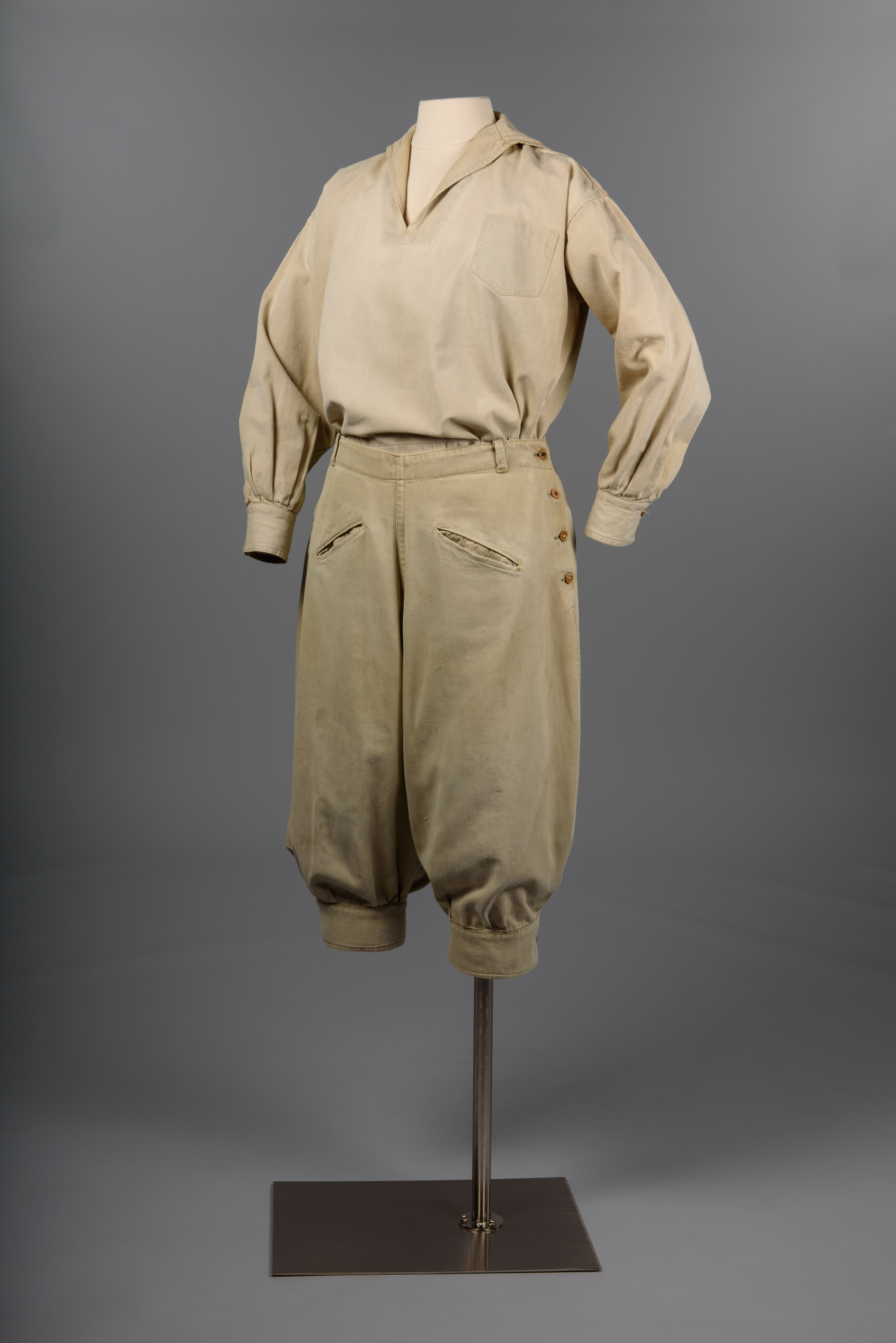Hiking Outfit, 1920s, gift of Mrs. Trevett Green copyright MOHAI Collection.{ }
