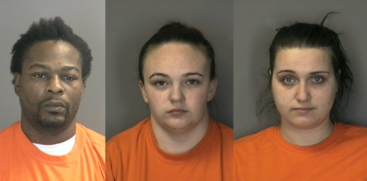 Colonie Police: Three arrested in connection to two armed robberies