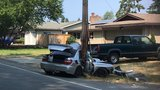 Driver crashes into power pole in Bothell, closes road for hours