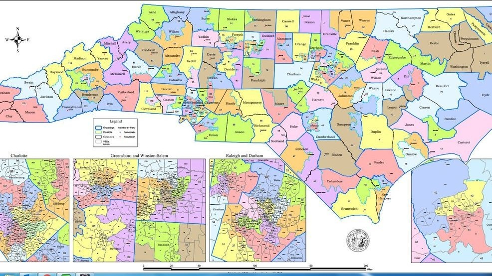 Judges NC must complete redistricting plan by end of the week WLOS