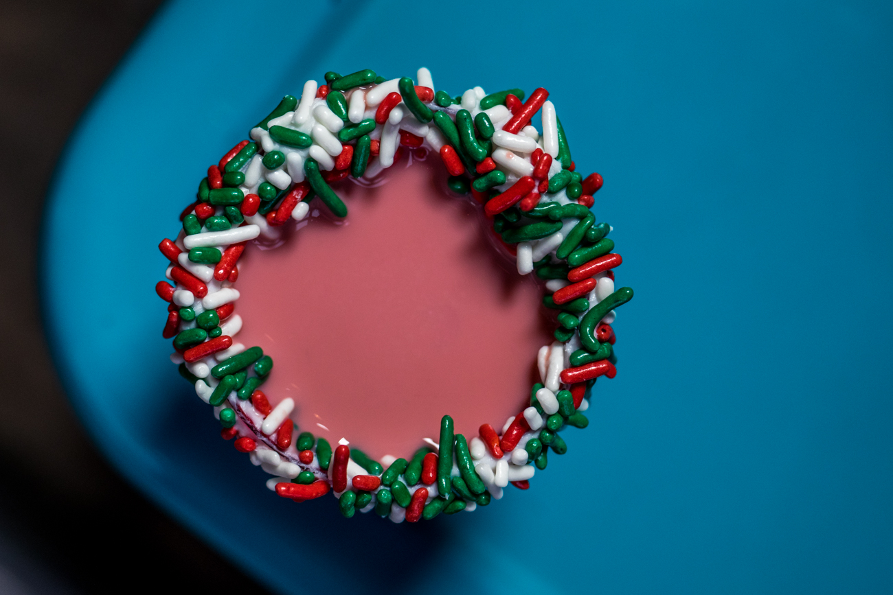 Red Velvet Christmas Cake Shot / Image: Catherine Viox // Published: 12.21.20