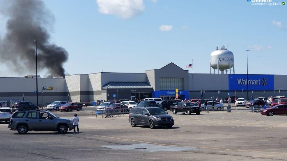Cheboygan Walmart catches on fire | WPBN