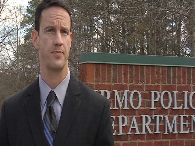 Irmo Police Chief  Brian Buck stands behind his officer's actions.