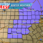 Freezing rain expected in our area