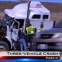 Unsafe Lane Change Leads To Three-Vehicle Crash on I-182