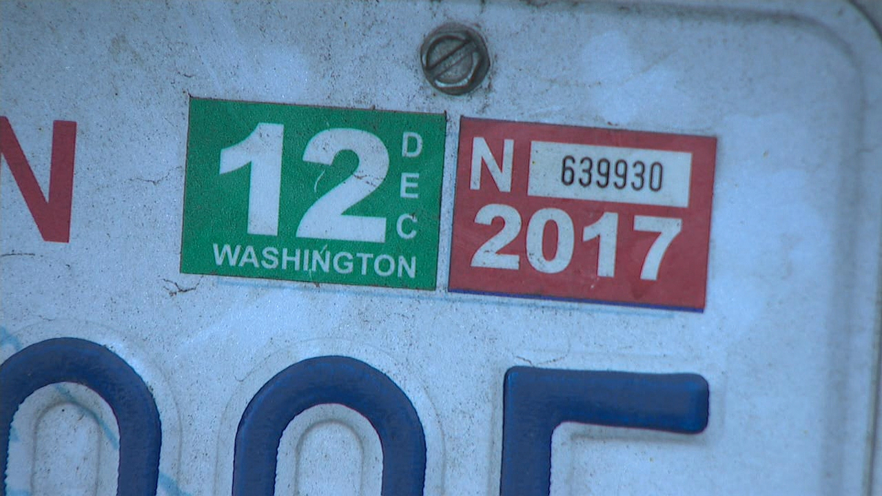 Some drivers in King, Pierce, and Snohomish Counties are experiencing sticker shock with the latest round of car-tab renewal bills arriving in the mail. (KOMO Photo).