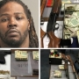 Man arrested after police seize oxycodone pills, heroin, 3 guns, over $40K from Md. home
