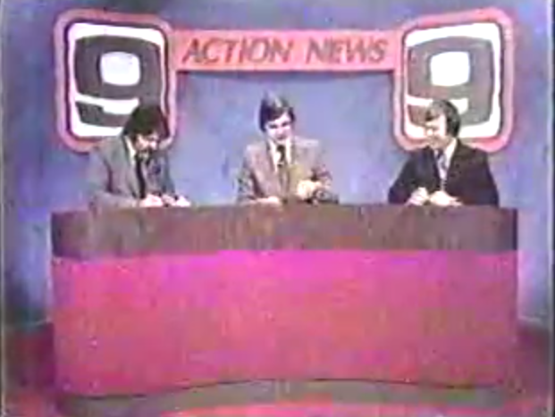 "The NewsChannel 9 ""1970s dream team:"" Don Welch, Bob Johnson, and Darrell Patterson."