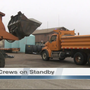 Road crews on standby by for winter weather