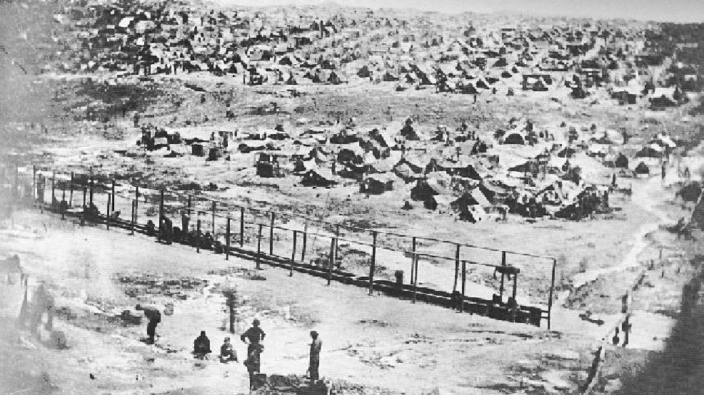 the infamous civil war prison andersonville essay Andersonville prison: infamous for atrocities in the american civil war andersonville prison is remembered as one of the most notorious confinements of prisoners of war due to the inhumane conditions that characterized it.