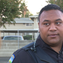 Clovis police officer first to see building on fire, saves lives