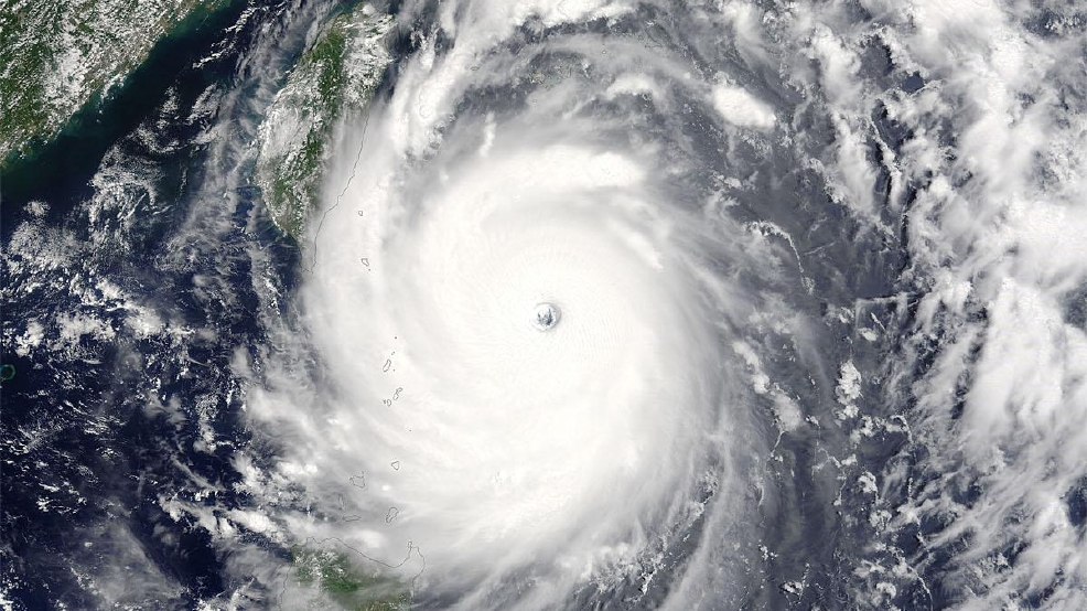 Watch Super Typhoon Nepartak's journey from birth to oceanic monster