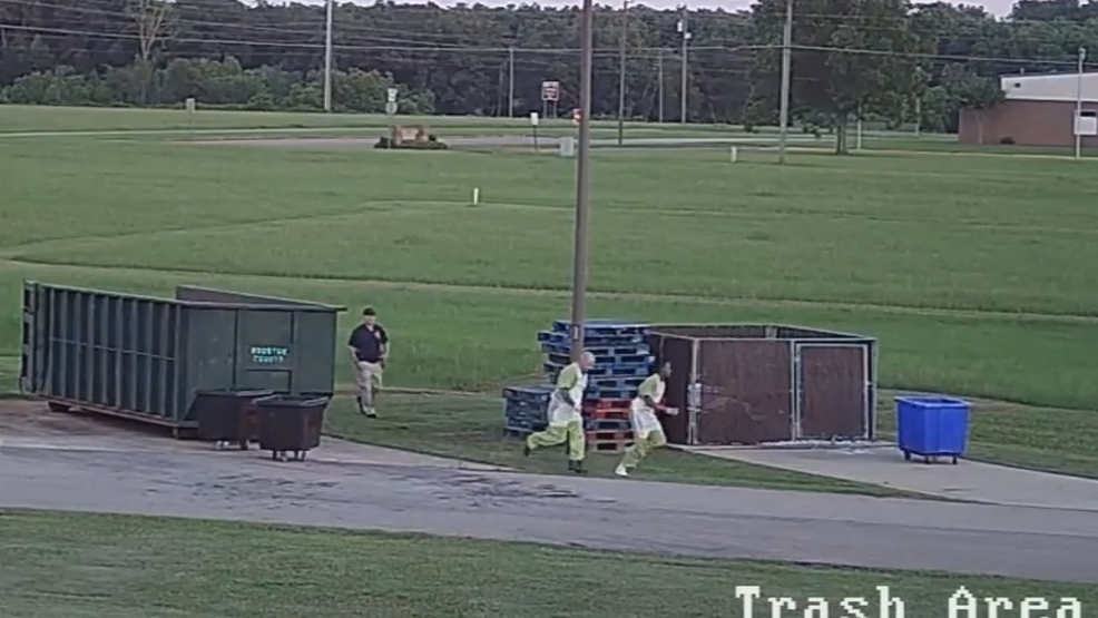 WATCH: Surveillance video shows Houston County inmates escaping | WGXA