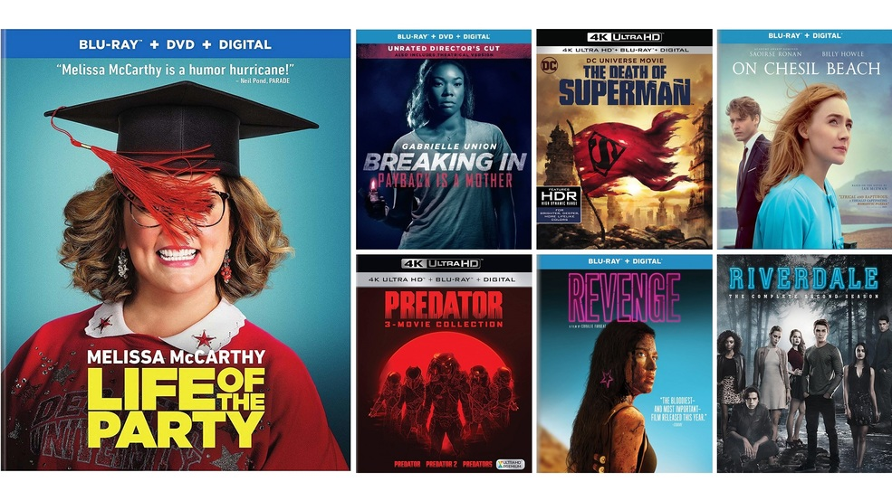 New DVD, Blu-ray and digital release highlights for the week of August 7,  2018 | KUTV