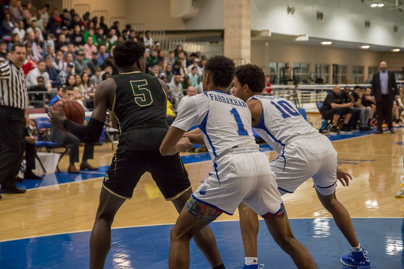 IMG Academy won over Holy Spirit, 64-52. Photo By Nathan P. Gayle